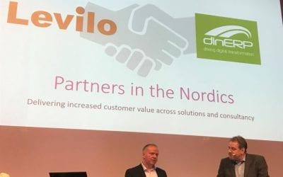 Levilo och DinERP blir partners