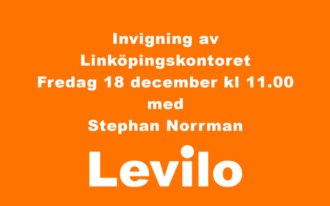 Virtuell invigning!