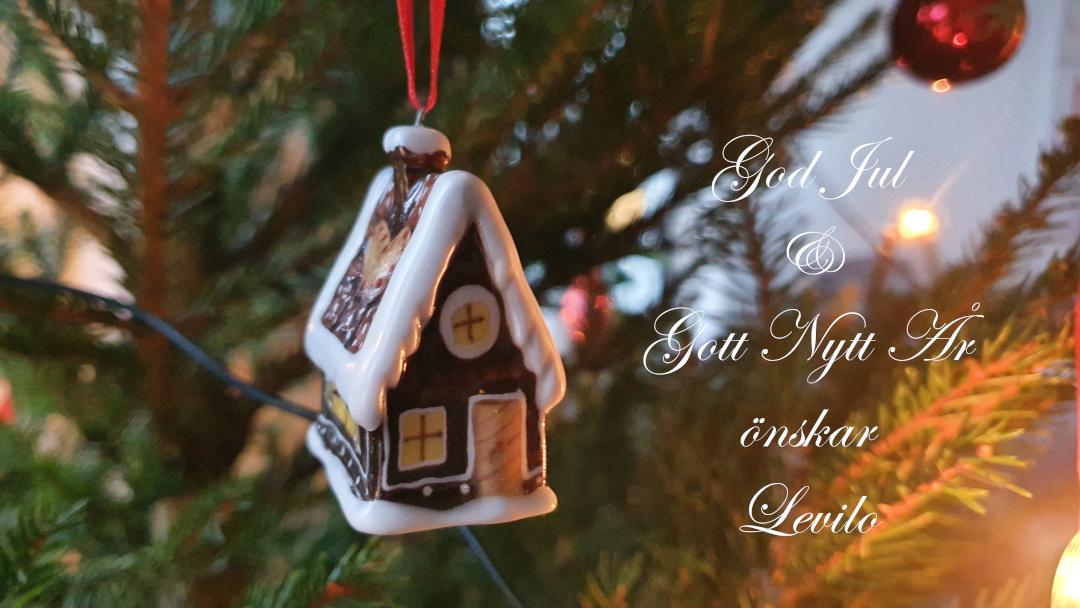 God Jul och Gott Nytt År önskarLevilotill våra kunder, vänner, samarbetspartners, kollegor och alla ni andra där ute. Ta hand om varandra!
