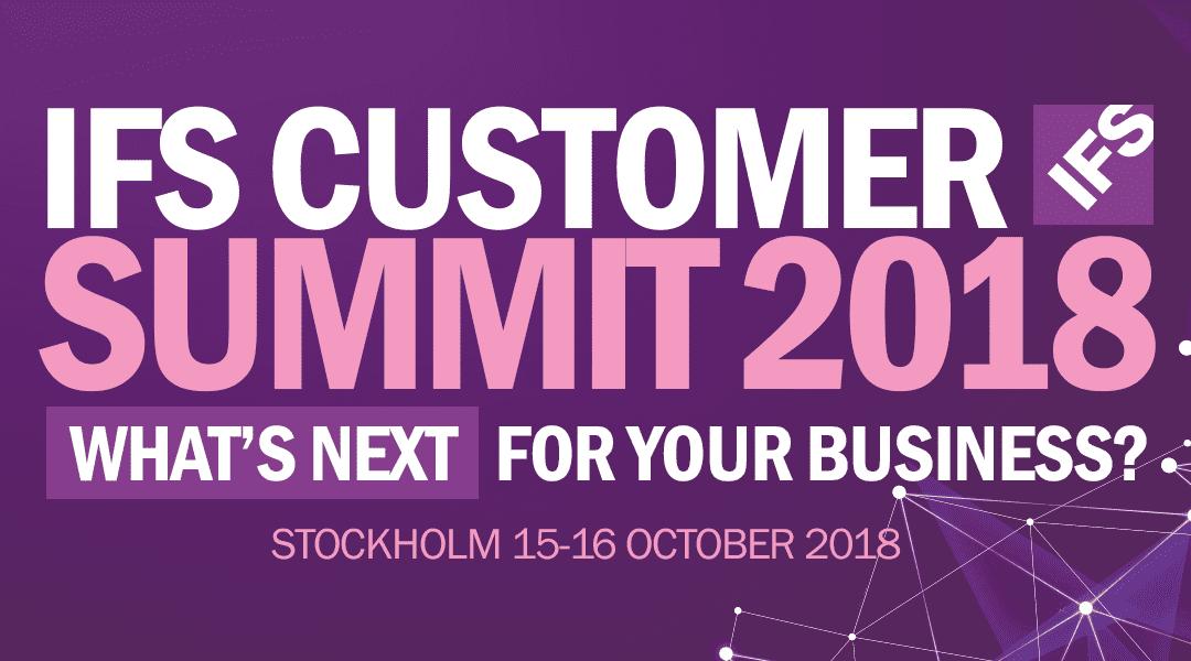 IFS Customer Summit 2018
