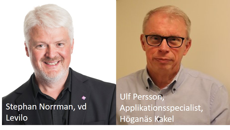 Levilo skriver samarbetsavtal med Höganäs Kakel