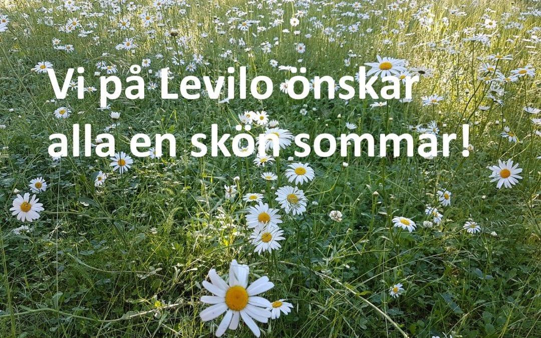 En skön sommar önskar vi på Levilo!